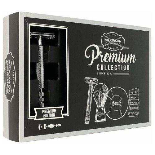 Купить Wilkinson Sword Подарочный набор Premium collection Бритва + мыло + лезвия + помазок