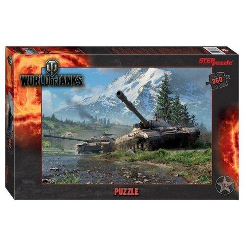 Пазл Step puzzle World of Tanks (96078), 360 дет. пазл step puzzle король лев 96079 360 дет