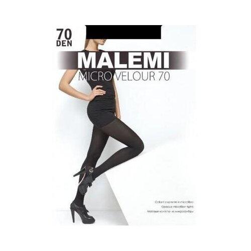 Колготки Malemi Micro Velour, 70 den, размер V, nero (черный)