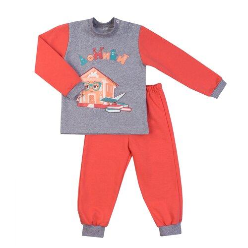 Купить Комплект одежды Утенок размер 98, коралловый/меланж, Комплекты и форма