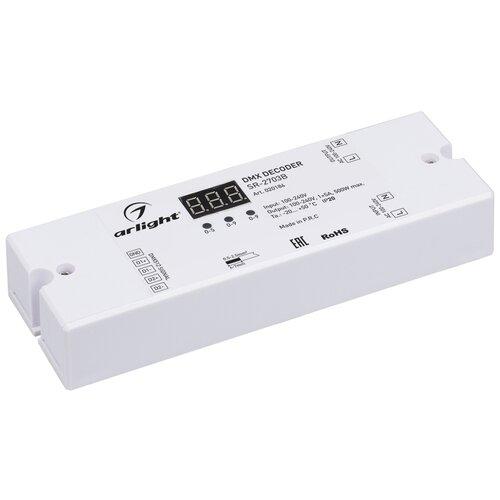 Фото - Декодер DMX SR-2703B (220V, 500W) (ARL, IP20 Пластик) выключатель сенсорный с контактным проводом 220v 500w pm218ws 220v
