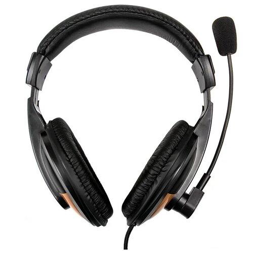 Компьютерная гарнитура Dialog M-750HV черный