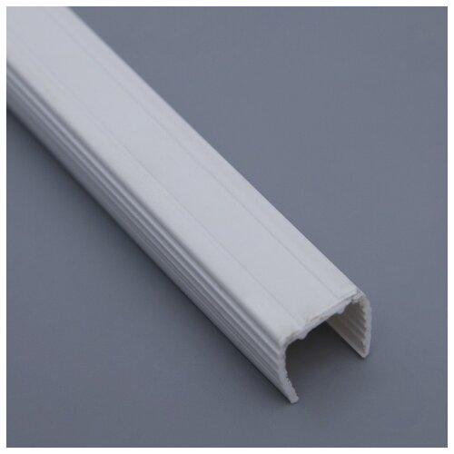 Короб монтажный для неона 15 х 25 мм сечение 13 х 13 мм 1 метр 1431328