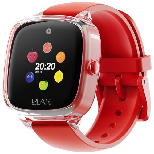 Детские умные часы ELARI KidPhone Fresh, красный недорого