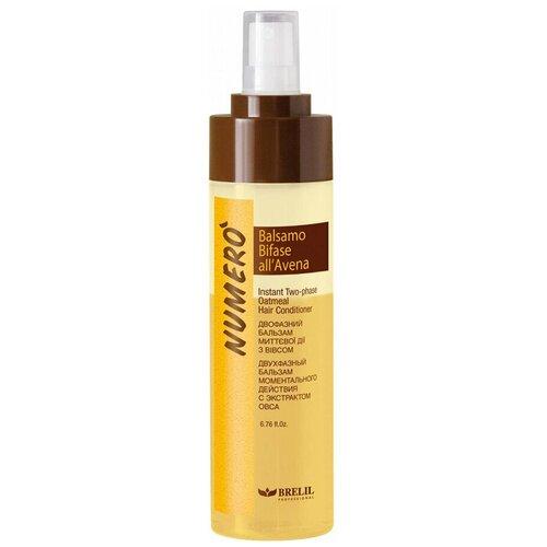Купить Brelil Professional двухфазный бальзам Numero Oat Two-Phase для волос моментального действия с экстрактом овса, 200 мл