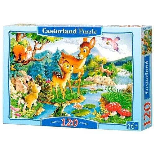 Купить Пазл Castorland Little Deer (В-12176), 120 дет., Пазлы