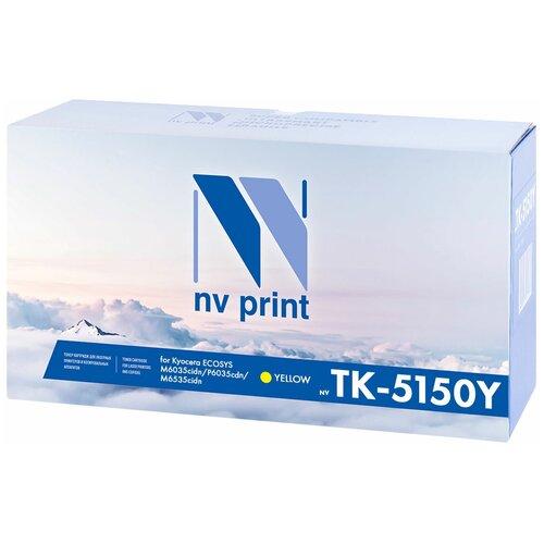 Фото - Картридж NV Print TK-5150 Yellow для Kyocera, совместимый картридж nv print tk 895 yellow для kyocera совместимый