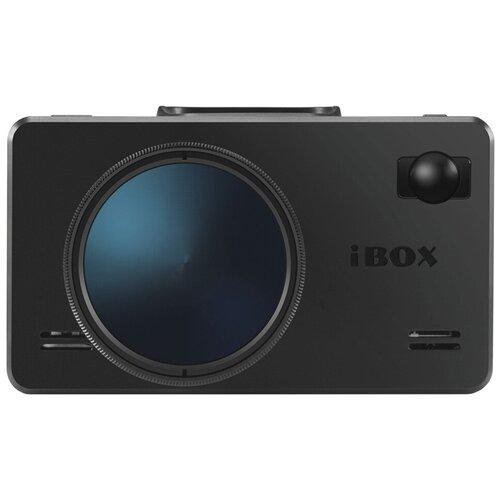 Видеорегистратор с радар-детектором iBOX iCON LaserVision WiFi Signature S, GPS, ГЛОНАСС, черный