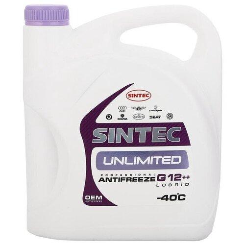 Антифриз SINTEC UNLIMITED G12++ 5 кг