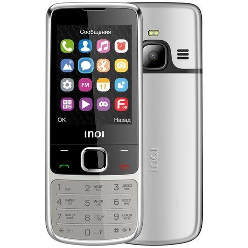 Телефон INOI 243 серебристый