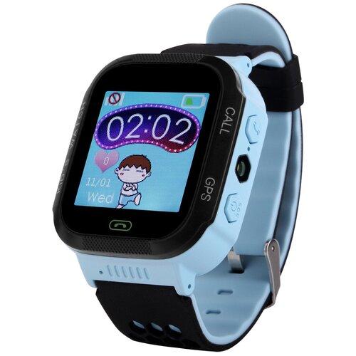 Детские умные часы Smart Baby Watch GW500S, голубой детские умные часы smart baby watch q75 голубой