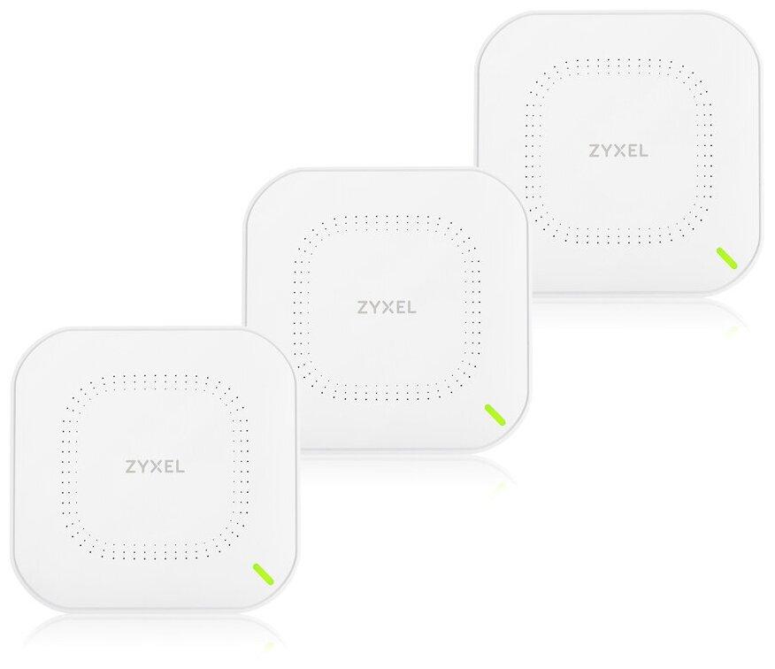 Wi-Fi Mesh точка доступа ZYXEL NebulaFlex NWA210AX (3 pack) — купить по выгодной цене на Яндекс.Маркете в Москве