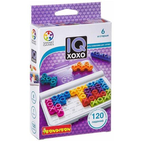 Головоломка BONDIBON Smart Games IQ-XOXO (ВВ1889) головоломка bondibon smart games iq конфетки вв1353
