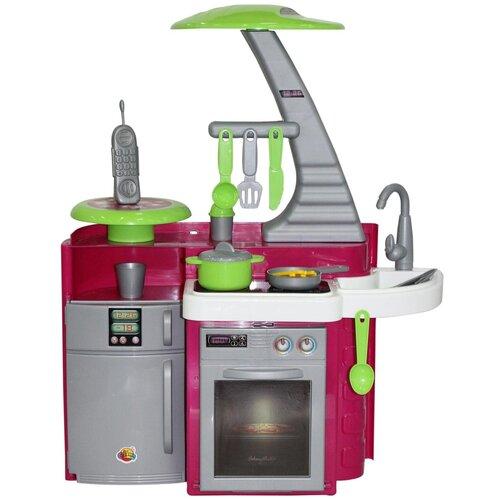 Купить Кухня Coloma Y Pastor Laura 56320/49896 красный/серый/белый, Детские кухни и бытовая техника
