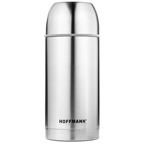 Классический термос Hoffmann НМ-23120, 1.2 л серебристый