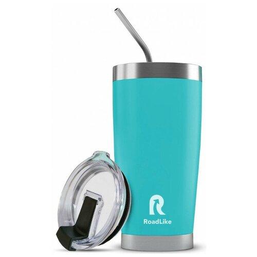 Термокружка Roadlike City mug, 0.57 л голубой