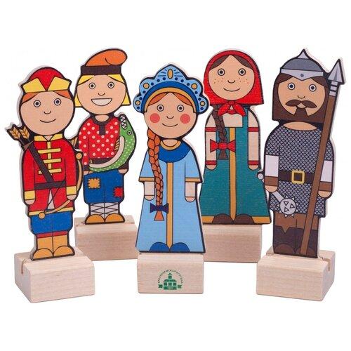 Краснокамская игрушка Набор персонажей Герои русских сказок (Н-66)