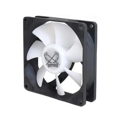 Вентилятор для корпуса Scythe Kaze Flex Slim 92 RGB PWM (KF9225FD23R-P) черный/белый/RGB