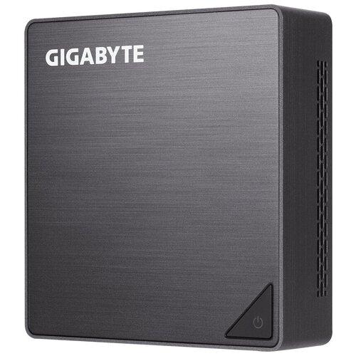 Платформа GIGABYTE BRIX GB-BRi3-8130 Intel Core i3-8130U/без ОЗУ/Intel UHD Graphics 620/ОС не установлена черный платформа intel nuc boxnuc7i3bnk intel core i3 7100u без озу intel hd graphics 620 ос не установлена черный серый