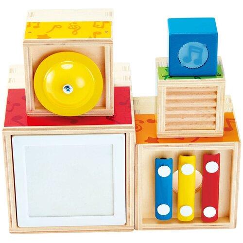 Купить Hape набор музыкальных инструментов E0336 разноцветный, Детские музыкальные инструменты