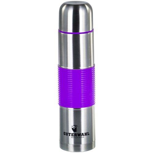 Классический термос Guterwahl Keep Warm, 0.75 л фиолетовый