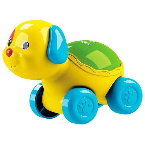 Фото - Развивающая игрушка Азбукварик Люленьки Собачка Светяшка, желтый подвесная игрушка азбукварик зайчонок люленьки желтый голубой