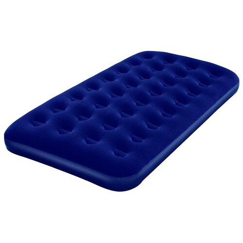 Надувной матрас Bestway Flocked Air Bed 67001 синий