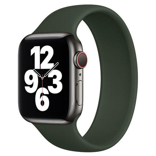 Фото - Аксессуар Ремешок Activ для APPLE Watch 38/40mm Dark Green 4690001256542 аксессуар ремешок activ sport n для apple watch 42mm black green 80246