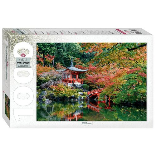 Пазл Step puzzle Park&Garden Collection Пагода (79117), 1000 дет. пазл step puzzle plastic collection дракон и фея 98019 500 дет