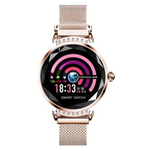 детские умные часы zdk q360 голубой Умные часы ZDK H2, золотистый