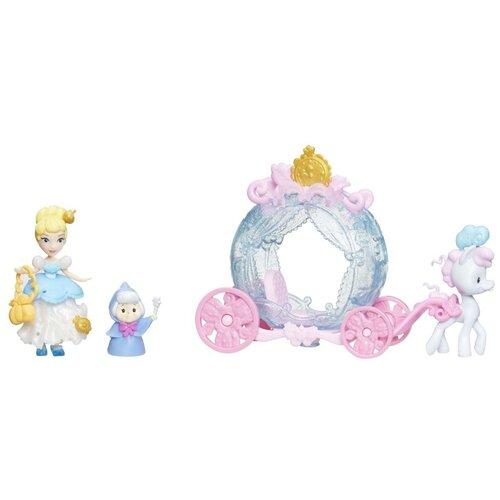 Купить Набор Hasbro Disney Princess Маленькое королевство Золушка Сцена из фильма, E2221, Куклы и пупсы