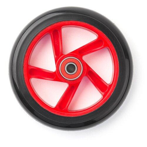 Фото - Колесо для самоката Trolo для Mini переднее красный кикборд trolo d3 красный черный
