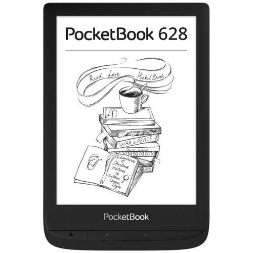 Электронная книга PocketBook 628 8 ГБ черный