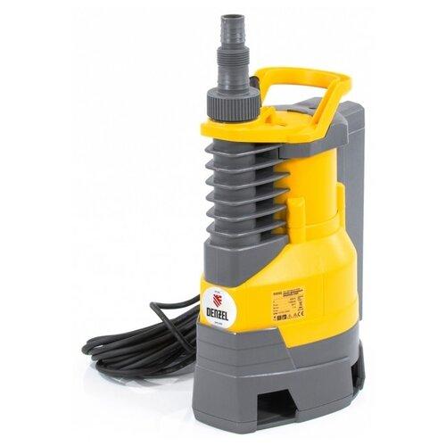 Дренажный насос Denzel DPХ800 (800 Вт) дренажный насос denzel dp450s 450 вт