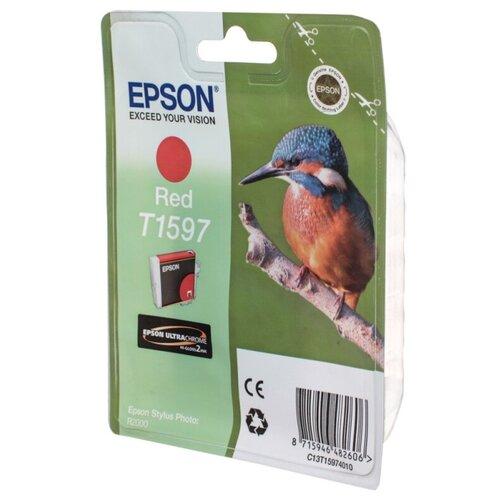 Фото - Картридж Epson C13T15974010 картридж epson c13t15974010 t1597 для epson stylus photo r2000 красный