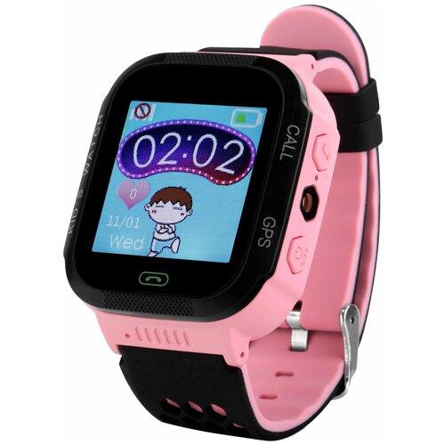 Детские умные часы Smart Baby Watch GW500S розовый