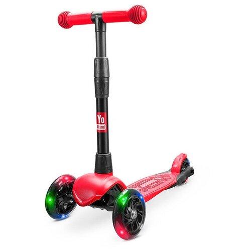 yo yo ma yo yo ma six evolutions bach cello suites 3 lp Самокат Детский Yo Band 3-Х колесный Кикборт дерзкий Yo Kaito красный свет. колеса