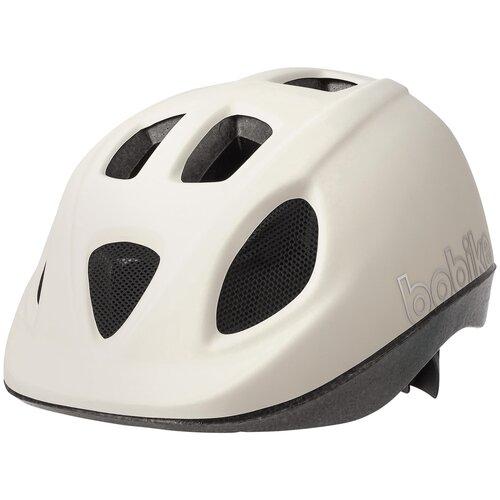 Шлем велосипедный BOBIKE GO, S (52-56 см), детский, цвет: Белый шлем велосипедный bobike go s 52 56 см детский цвет зеленый