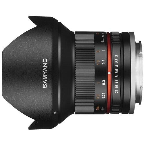 Фото - Объектив Samyang 12mm f/2.0 NCS CS Sony E черный объектив samyang af 12mm f 2 0 fe sony e черный