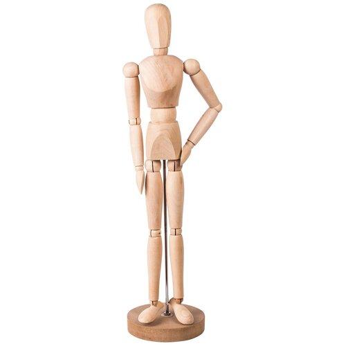Манекен художественный BRAUBERG Classic манекен человека мужской 51 см дерево
