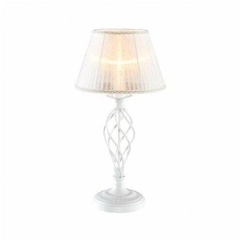Лампа декоративная Citilux Ровена CL427810, E27, 75 Вт, цвет арматуры: белый, цвет плафона/абажура: белый citilux ровена cl427130 180 вт