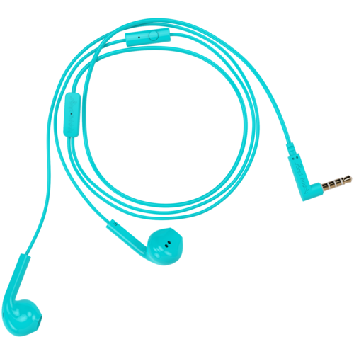 Наушники Happy Plugs Earbud Plus, turquoise