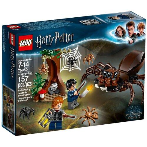 Конструктор LEGO Harry Potter 75950 Логово Арагога конструктор lego harry potter 75979 букля