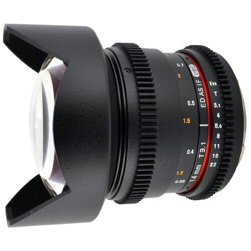 Фото - Объектив Samyang 14mm T3.1 ED AS IF UMC VDSLR Canon EF объектив samyang 50mm f 1 4 as umc canon ef