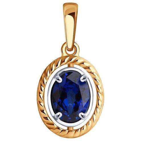 Diamant Подвеска из золота с сапфиром 51-230-01072-1