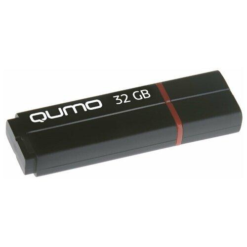 Фото - Флешка Qumo Speedster 32 GB, черный флешка usb 32gb qumo speedster usb3 0 черный qm32gud3 sp black