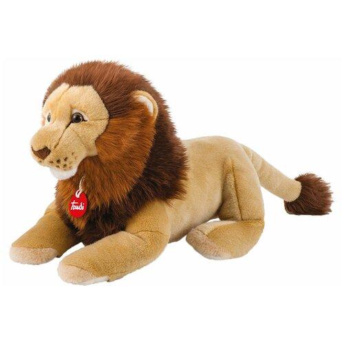 Фото - Мягкая игрушка Trudi Лев Нарцис лежащий 27 см мягкие игрушки trudi лев нарцис 27 см