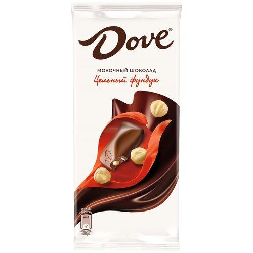 Фото - Шоколад Dove молочный с цельным фундуком, 90 г шоколад dove 90г молочный с цельным фундуком одинцовская кф