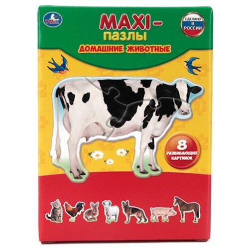 Фото - Набор пазлов Умка Maxi Домашние животные (4690590110089) набор карточек умка умные игры домашние животные 15 7x10 7 см 32 шт