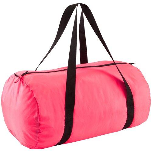 Сумка для фитнеса складная 30 л розовая DOMYOS X Декатлон